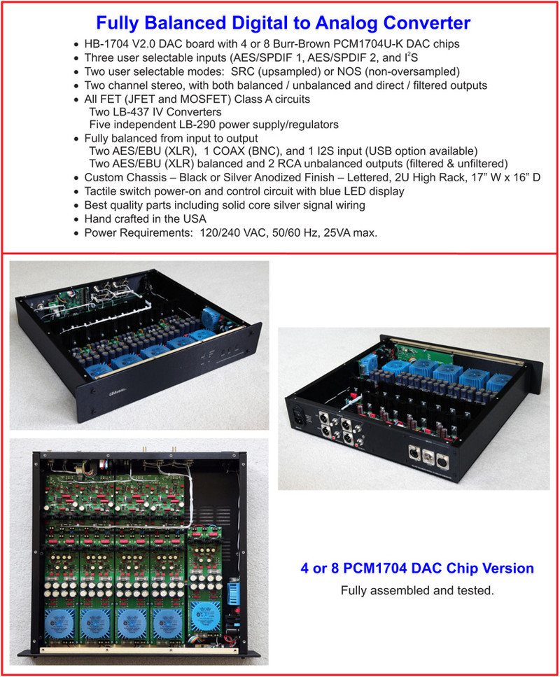 FET 437-290 Balanced DAC